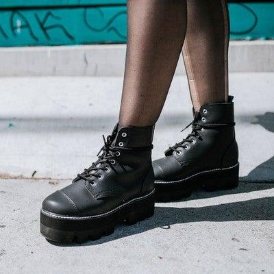 e154fa62330e1 T.U.K. Footwear | Creeper Shoes, Platforms, Punk Boots, Vegan Shoes