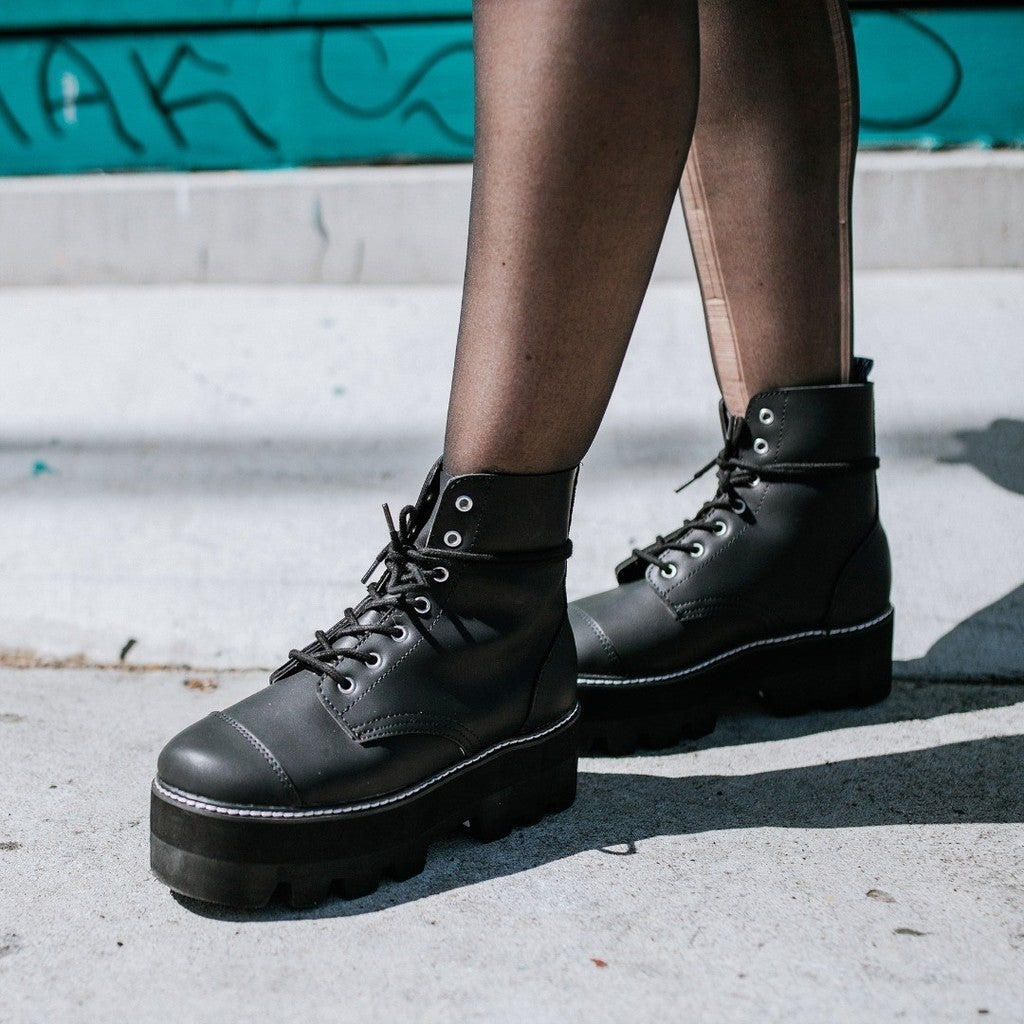 b5bee74bea5 T.U.K. Footwear | Creeper Shoes, Platforms, Punk Boots, Vegan Shoes